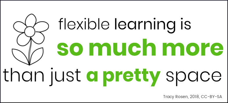 Flexible learning is so much more than just a pretty space